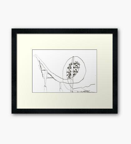 Cannon ball loop Framed Print