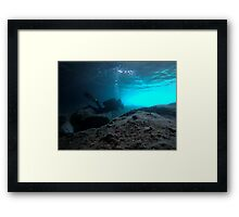 Scuba diving#21 Framed Print