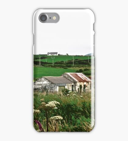 Abandoned cottage in Donegal, Ireland iPhone Case/Skin