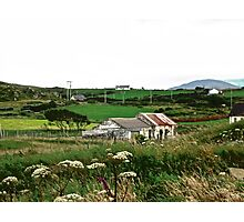 Abandoned cottage in Donegal, Ireland Photographic Print