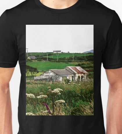 Abandoned cottage in Donegal, Ireland Unisex T-Shirt