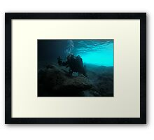 Scuba diving#23 Framed Print