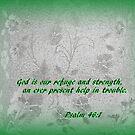 Psalm 46:1 by WeeZie