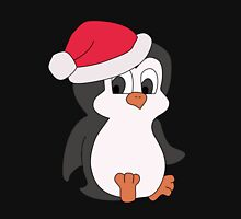 Christmas Penguin Mens V-Neck T-Shirt