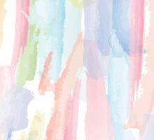 Abstract Brushstrokes 2 - Pastel Sticker