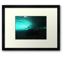 Scuba diving#27 Framed Print