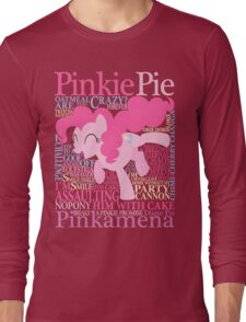 The Many Words of Pinkie Pie Long Sleeve T-Shirt