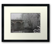 Somewhere Over The Avon Framed Print