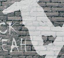 Huck Yeah Brick (Snowboarding) Sticker