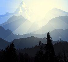 Mountain Rangotaur by Designosaur