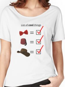 List of cool things... Women's Relaxed Fit T-Shirt