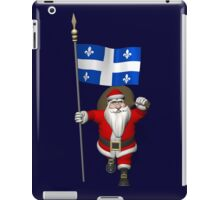 Santa Claus Visiting Quebec iPad Case/Skin
