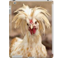 Bad Hair Day Rooster Art Print, Pillow, T-shirt, Hoodie, Tote Bag, iPhone Case, Samsung Galaxy Case, iPad Case iPad Case/Skin