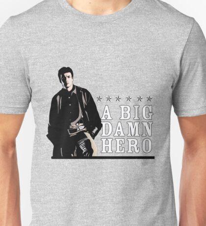 Firefly's Malcolm Reynolds: A Big Damn Hero Unisex T-Shirt