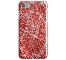 Red Memory iPhone Case/Skin