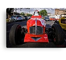 Red old Sports Car Canvas Print