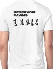 Reservoir Pawns Written Back Unisex T-Shirt