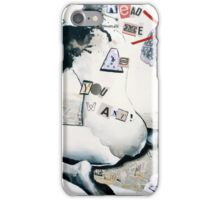 Read me as you want. iPhone Case/Skin