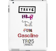 TRXYE - Stylized Titles iPad Case/Skin