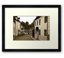 Mill Street Framed Print