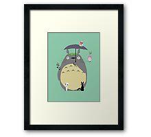 Miyazaki tribute Framed Print