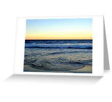 Manliest Beach Greeting Card