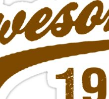 AWESOME VINTAGE SINCE 1985 AGED TO PERFECTION Sticker