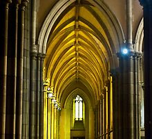 Yellow Arches by DavidsArt
