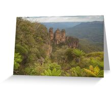 The Three Sisters With Fernery Greeting Card
