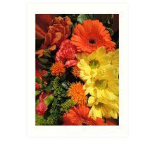 Autumn Bouquet (2014) Art Print