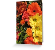 Autumn Bouquet (2014) Greeting Card