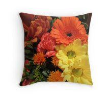 Autumn Bouquet (2014) Throw Pillow