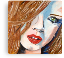 Shirley Canvas Print