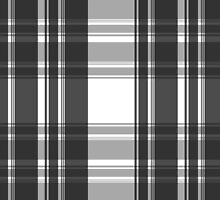 Plaid Perfection-Black/White by Clickcreations