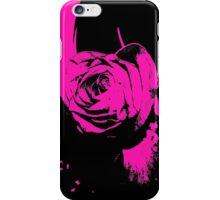 Dark purple pop art rose samsung galaxy case iPhone Case/Skin