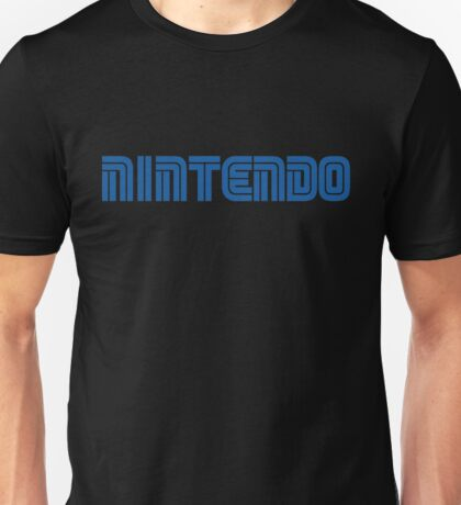 Nintendo in Sega Font Unisex T-Shirt