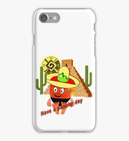 Peachy in Mexico iPhone Case/Skin