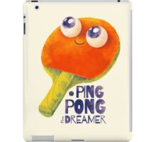 Ping-pong dreamer iPad Case/Skin