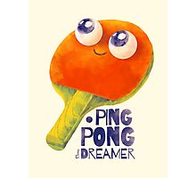 Ping-pong dreamer Photographic Print