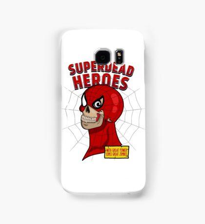 Superdead heroes: spider-dead Samsung Galaxy Case/Skin