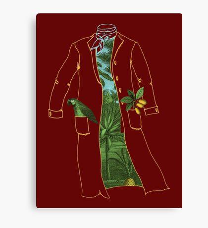Humboldt's Coat Canvas Print