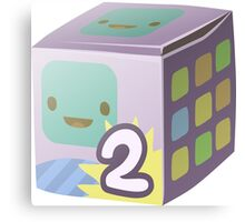 Glitch Cubimals cubimal package 2 Canvas Print