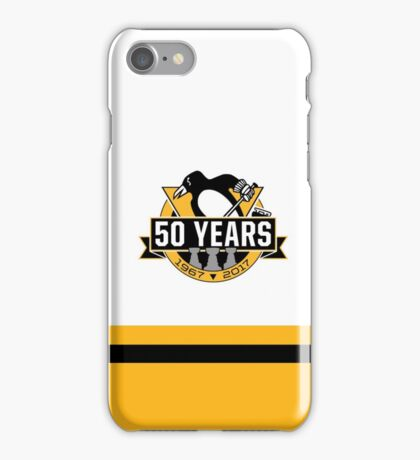 Pittsburgh Penguins 50th Anniversary iPhone Case/Skin