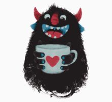 Demon with cup Kids Clothes