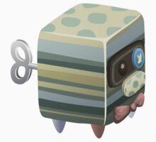Glitch Cubimals npc cubimal butler Baby Tee