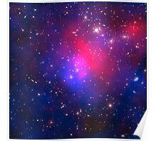 Stary night galaxy explorer Poster
