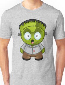 Frankenstein Monster Boy Shocked Unisex T-Shirt