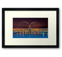 """Evening At Eastern Beach"" Framed Print"