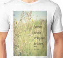 Jane Austen Content Unisex T-Shirt