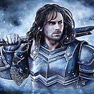 Dwarven warrior by jankolas